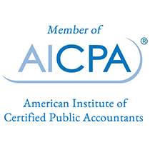 Member of AICPA American Institute of Certified Public Accountants